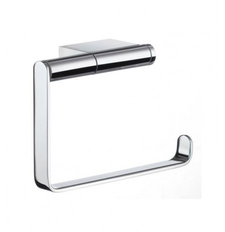 Smedbo AK341 Air Toilet Roll Euro Holder Without Lid in Polished Chrome