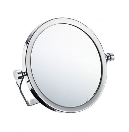 Smedbo FK443 Outline - Travel Mirror with swivel stand in Polished Chrome