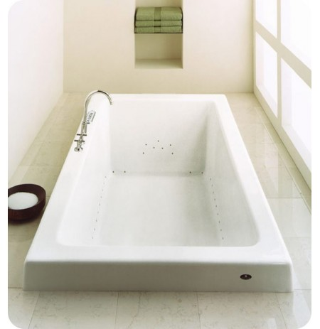 "Neptune ZEN3672R Zen 72"" x 36"" Customizable Rectangular Bathroom Tub"