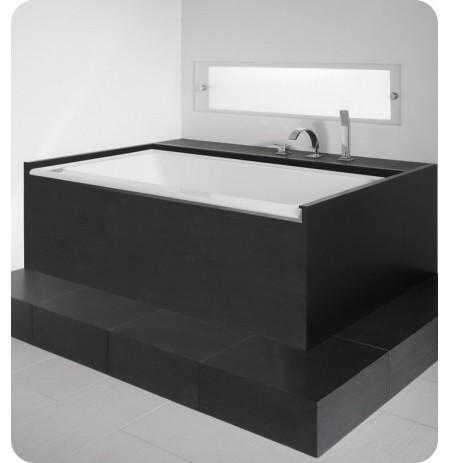 "Neptune ZB3666 Zora 66"" x 36"" Customizable Rectangular Bathroom Tub"