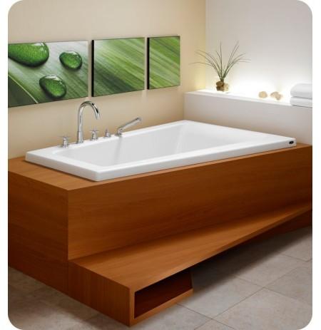 "Neptune BO60 Bora 60"" Customizable Corner Bathroom Tub"