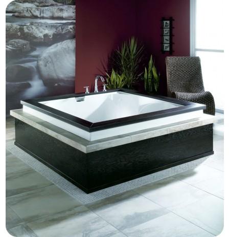 """Neptune MA6020 Macao 60"""" Customizable Square Bathroom Tub"""