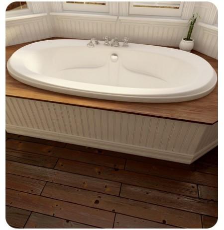 "Neptune FE72 Felicia 72"" Customizable Oval Bathroom Tub"