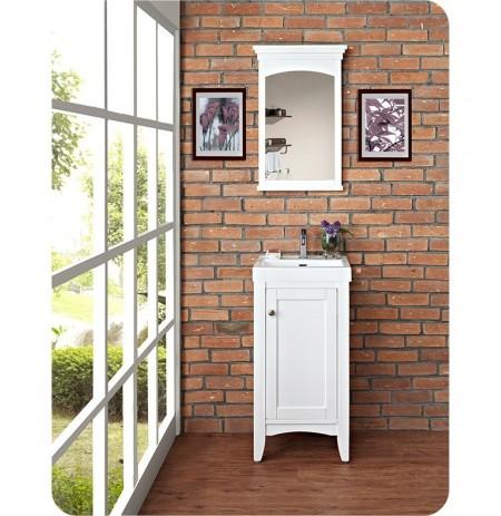 Fairmont Designs 1512-V1816 Shaker Americana 18 x 16 inch Vanity in Polar White