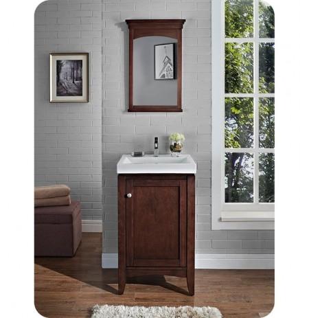 Fairmont Designs 1513-V2118 Shaker Americana 21 x 18 inch Vanity in Habana Cherry