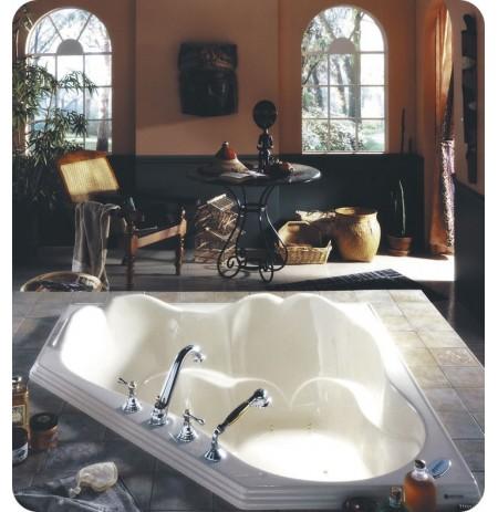 "Neptune OR54 Orphee 54"" Customizable Corner Bathroom Tub"