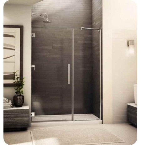 Fleurco PXKP Platinum Kara Shower Door and Panel with Support Bar System