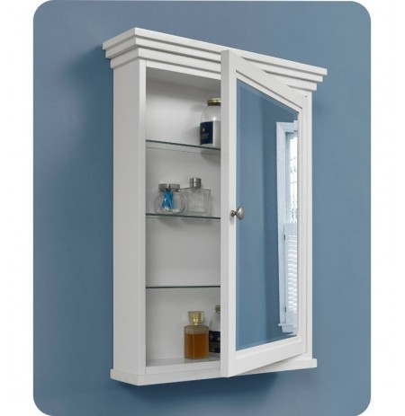 "Fairmont Designs 1512-MC24 Shaker Americana 24"" Medicine Cabinet in Polar White"