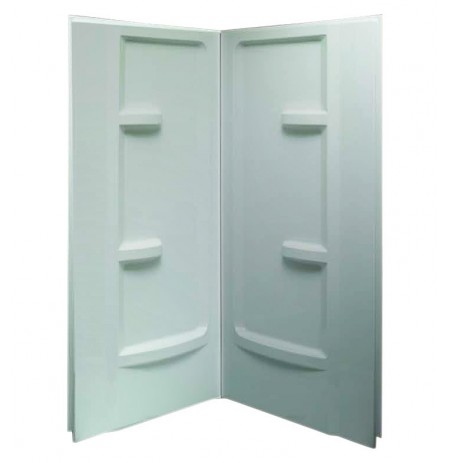 "Fleurco AWF3672  Acrylic 36"" x 72"" Shower Walls for Corner Showers"