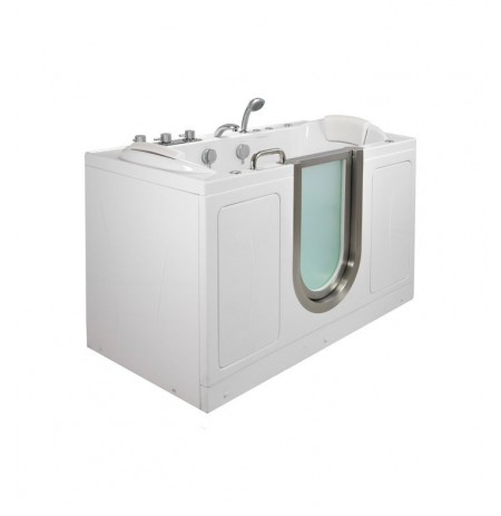 Ella 93085 Companion Dual (Air and Hydro) Massage Two Seat Walk In Tub