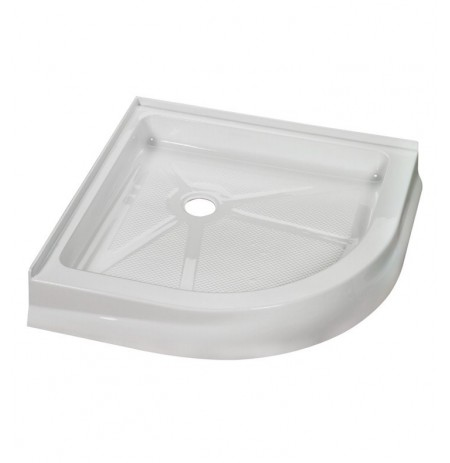 Fleurco ABR Round Acrylic Corner Shower Base