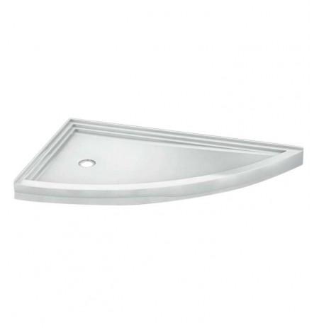 Fleurco ABSL66 Slice Acrylic Corner Shower Base