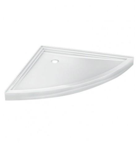 Fleurco ABSL54 Wedge Acrylic Corner Shower Base