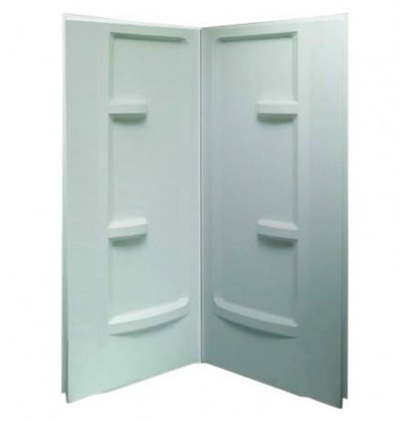 "Fleurco AWF3872  Acrylic 38"" x 72"" Shower Walls for Corner Showers"