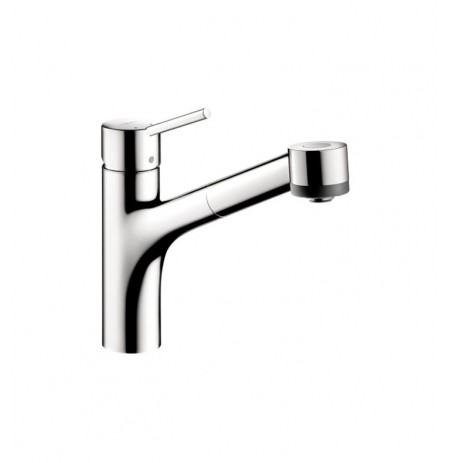 Hansgrohe 06462 Talis S 2-Spray Pull-Out Kitchen Faucet