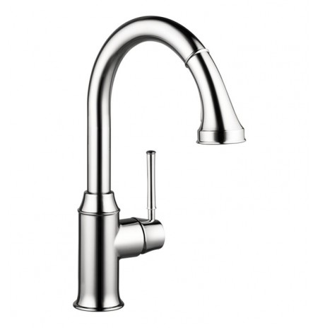 Hansgrohe 04215 Talis C 2-Spray HighArc Pull-Down Kitchen Faucet