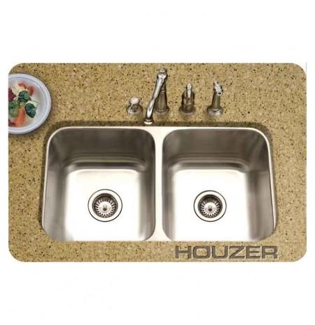Houzer MD-3109-1 Undermount Double Basin Kitchen Sink