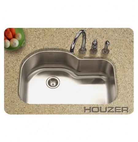 Houzer MH-3200-1 32 inch Undermount Single Oblong Basin Kitchen Sink