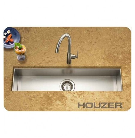 Houzer CTB-3285 Undermount Single Basin Bar Sink