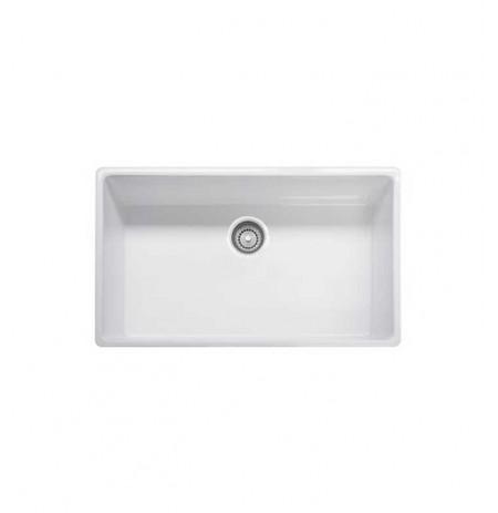Franke FHK710-33WH White Farm House Single Basin Fireclay Kitchen Sink