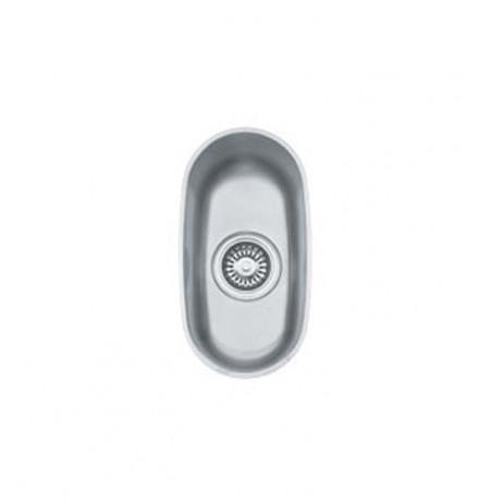 Franke PCX1107 Prestige Single Basin Undermount Stainless Steel Kitchen Sink