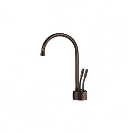 Franke LB7260 Little Butler Hot and Cold Water Dispenser Faucet with Metal Lever Handles in Old World Bronze