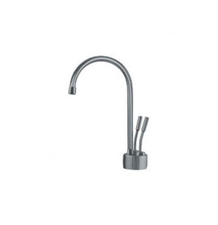 Franke LB7280 Little Butler Hot and Cold Water Dispenser Faucet with Metal Lever Handles in Satin Nickel