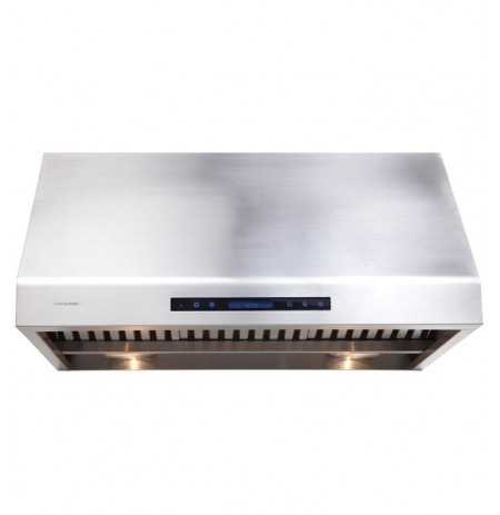 "Cavaliere AP238-PS81-42 42"" Stainless Steel Under Cabinet Mount Range Hood"