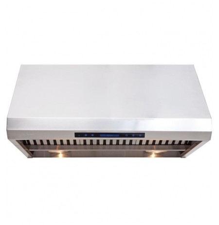 "Cavaliere AP238-PS85-30 30"" Heavy Duty Stainless Steel Under Cabinet Mount Range Hood"