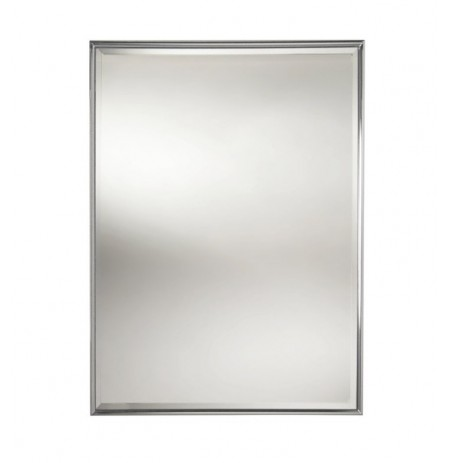 Valsan 53206 Valdemar Dos Santos Bathroom Rectangular Framed Mirror with Bevel