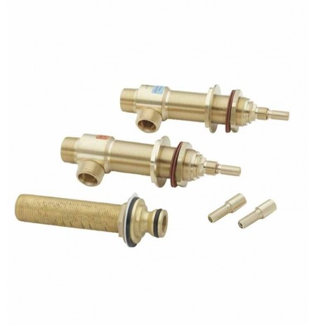 California Faucets 08-75-63 Roman Tub Rough-in Kit with QC-99 Quick Connect