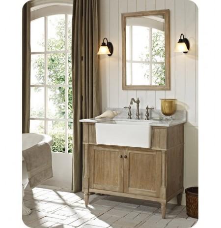"Fairmont Designs 142-FV36 Rustic Chic 36"" Farmhouse Modern Bathroom Vanity"