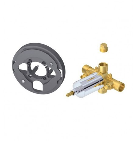 Danze D112515T Single Control Pressure Balance Mixing Valve with Screwdriver Stops in Rough Brass