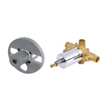 Danze D112500T Single Control Pressure Balance Mixing Valve with Screwdriver Stops in Rough Brass