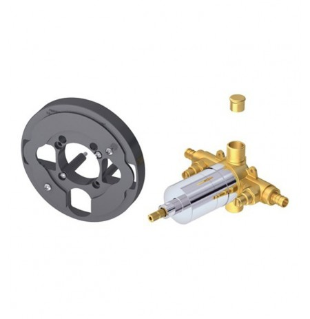 Danze D112510T Single Control Pressure Balance Mixing Valve with Screwdriver Stops in Rough Brass