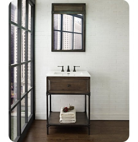 "Fairmont Designs 1401-VH24 Toledo 24"" Open Shelf Traditional Bathroom Vanity"