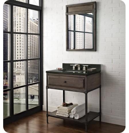 "Fairmont Designs 1401-VH30 Toledo 30"" Open Shelf Modern Bathroom Vanity"