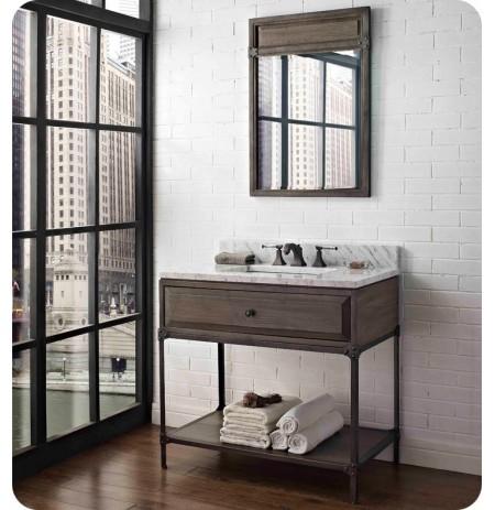 "Fairmont Designs 1401-VH36 Toledo 36"" Open Shelf Modern Bathroom Vanity"