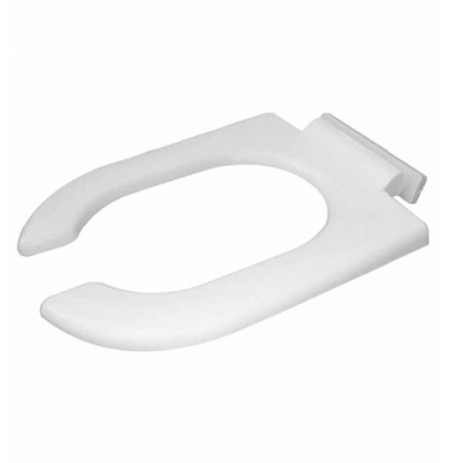 Duravit 0064390000 Starck Plastic Elongated Toilet Seat in White Alpin Finish