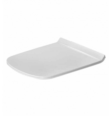 Duravit 0063710000 DuraStyle Plastic Specialty Toilet Seat and Cover in White Alpin Finish