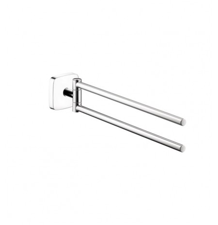 Hansgrohe 41512000 PuraVida Dual Towel Bar