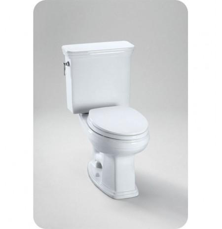 TOTO CST423EFG Eco Promenade® Toilet, Round Bowl 1.28 GPF SanaGloss®