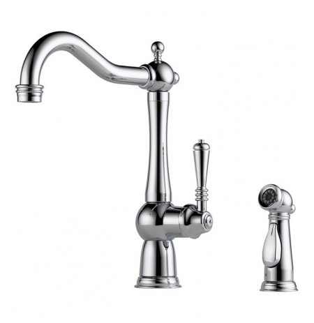 Brizo 61136LF Tresa Single Handle Kitchen Faucet with Spray