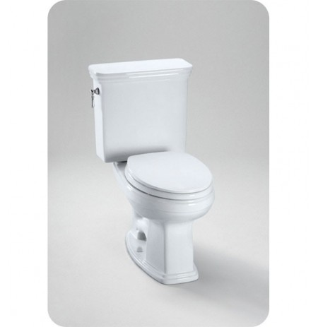 TOTO CST424EFG Eco Promenade® Toilet, Elongated Bowl 1.28 GPF SanaGloss®
