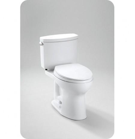 TOTO CST454CEFG Drake II Two Piece Toilet, 1.28 GPF SanaGloss®