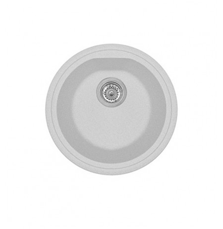 LaToscana PL4351 Atlantic Series Single Basin Drop in Round Sink