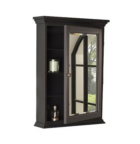 "Fairmont Designs 1508-MC24 Framingham 24"" Traditional Medicine Cabinet - Obsidian"