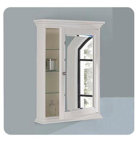 """Fairmont Designs 1502-MC24 Framingham 24"""" Traditional Medicine Cabinet in Polar White"""