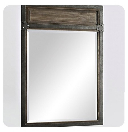 "Fairmont Designs 1401-M24 Toledo 24"" Transitional Mirror in Driftwood Gray"