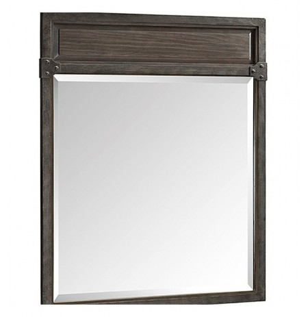 "Fairmont Designs 1401-M28 Toledo 28"" Transitional Mirror in Driftwood Gray"